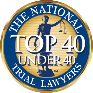 NTL Top 40 Under 40 Badge - Thomas Pivnicny