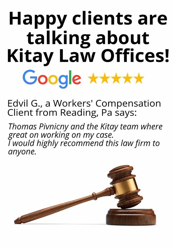 Reading Workers' Compensation Review - Kitay Law Offices (Mobile)