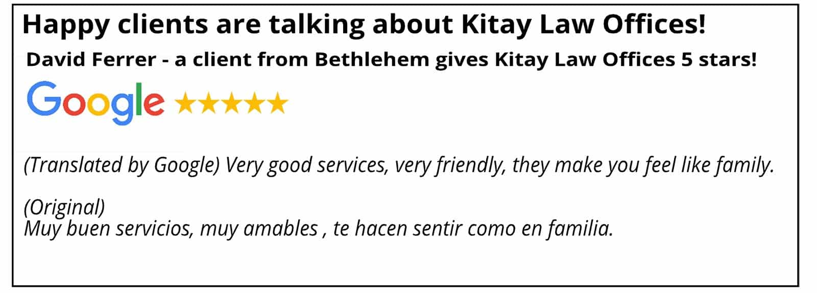 Bethlehem Personal Injury Law Review - Kitay Law Offices