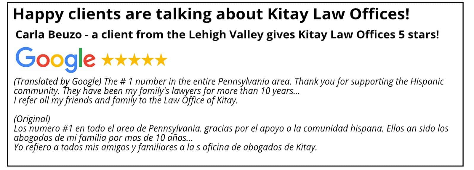 Lehigh Valley Personal Injury Law Review - Kitay Law Offices