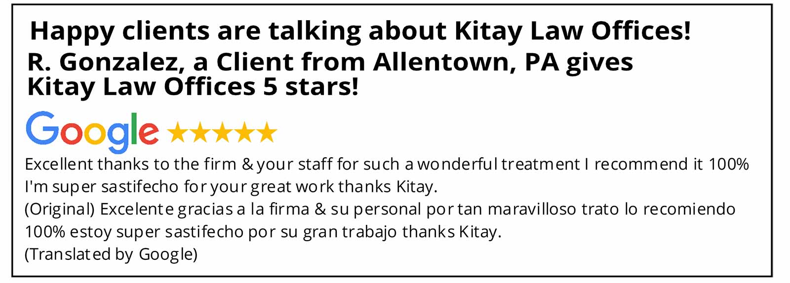 Allentown Car Accident Lawyer Review - Kitay Law Offices