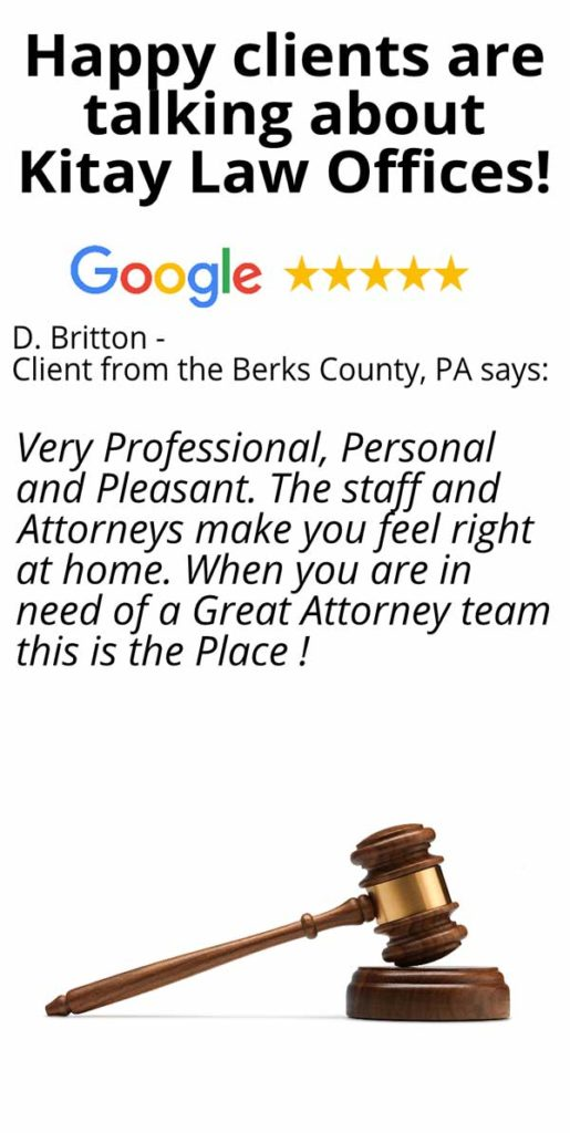 Berks County Car Accident Lawyers Review - Kitay Law Offices (Mobile)