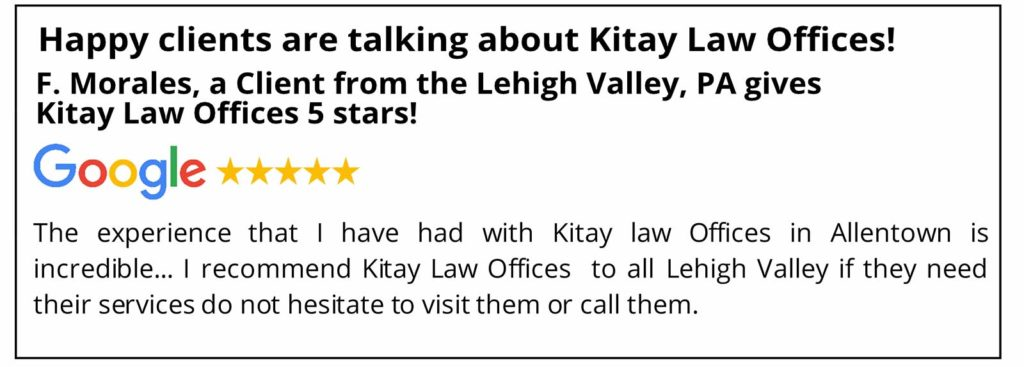 Lehigh Valley Car Accident Lawyers Review - Kitay Law Offices
