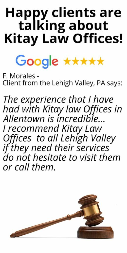 Lehigh Valley Car Accident Lawyers Review - Kitay Law Offices (Mobile)