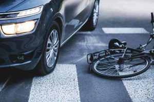 Bicycle Accident on Street